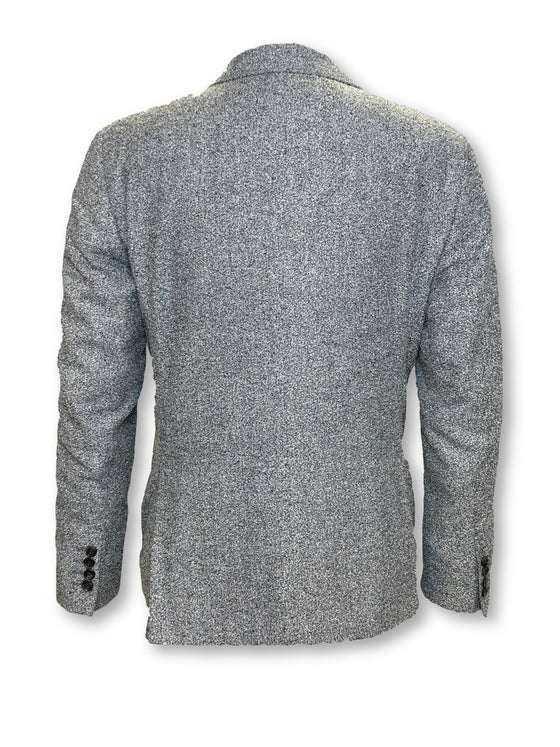 Hardy Amies unstructured jacket in grey/blue marl- khakisurfer.com Latest menswear designer brands added include Eton, Etro, Agave Denim, Pal Zileri, Circle of Gentlemen, Ralph Lauren, Scotch and Soda, Hugo Boss, Armani Jeans, Armani Collezioni.