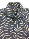 Circle of Gentlemen Joscelyn shirt in blue/white leaf print- khakisurfer.com Latest menswear designer brands added include Eton, Etro, Agave Denim, Pal Zileri, Circle of Gentlemen, Ralph Lauren, Scotch and Soda, Hugo Boss, Armani Jeans, Armani Collezioni.