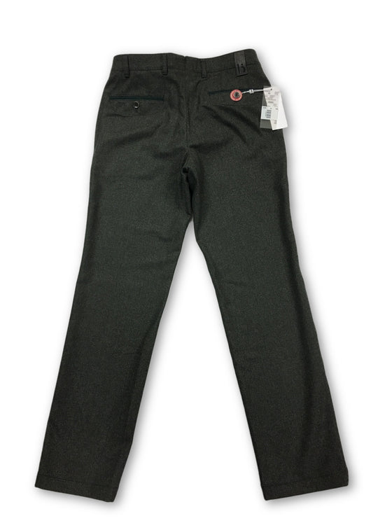 Hiltl trousers in green fleece wool- khakisurfer.com Latest menswear designer brands added include Eton, Etro, Agave Denim, Pal Zileri, Circle of Gentlemen, Ralph Lauren, Scotch and Soda, Hugo Boss, Armani Jeans, Armani Collezioni.