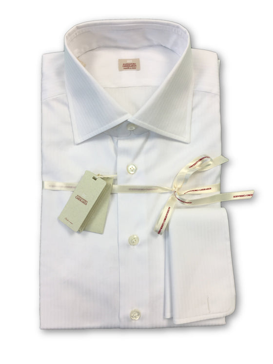 Alessandro Gherardi 'Red' shirt in white herringbone pattern- khakisurfer.com Latest menswear designer brands added include Eton, Etro, Agave Denim, Pal Zileri, Circle of Gentlemen, Ralph Lauren, Scotch and Soda, Hugo Boss, Armani Jeans, Armani Collezioni.