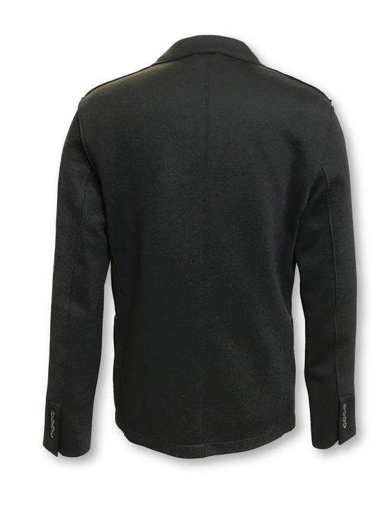 Lanvin semi structured jacket in black with zip pockets- khakisurfer.com Latest menswear designer brands added include Eton, Etro, Agave Denim, Pal Zileri, Circle of Gentlemen, Ralph Lauren, Scotch and Soda, Hugo Boss, Armani Jeans, Armani Collezioni.