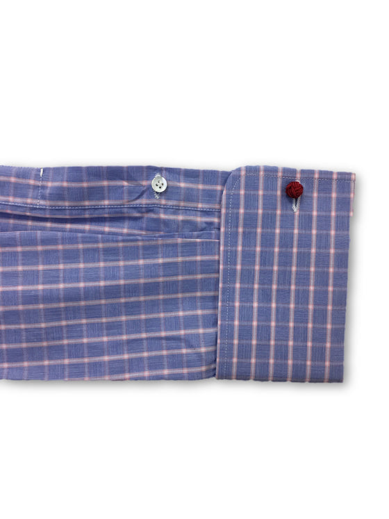 Alessandro Gherardi shirt in purple tattersall pattern- khakisurfer.com Latest menswear designer brands added include Eton, Etro, Agave Denim, Pal Zileri, Circle of Gentlemen, Ralph Lauren, Scotch and Soda, Hugo Boss, Armani Jeans, Armani Collezioni.