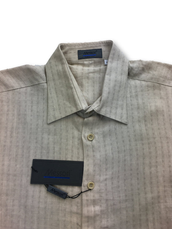 Messori shirt in beige- khakisurfer.com Latest menswear designer brands added include Eton, Etro, Agave Denim, Pal Zileri, Circle of Gentlemen, Ralph Lauren, Scotch and Soda, Hugo Boss, Armani Jeans, Armani Collezioni.