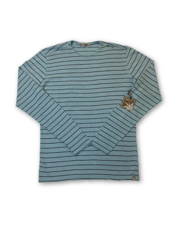 Agave Silver Mainshock knitwear in blue stripe- khakisurfer.com Latest menswear designer brands added include Eton, Etro, Agave Denim, Pal Zileri, Circle of Gentlemen, Ralph Lauren, Scotch and Soda, Hugo Boss, Armani Jeans, Armani Collezioni.