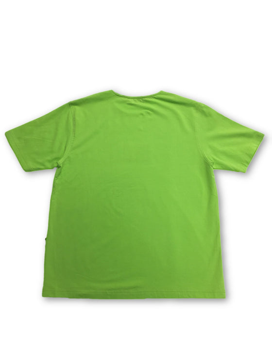 Signum T-Shirt in Lime Green- khakisurfer.com Latest menswear designer brands added include Eton, Etro, Agave Denim, Pal Zileri, Circle of Gentlemen, Ralph Lauren, Scotch and Soda, Hugo Boss, Armani Jeans, Armani Collezioni.