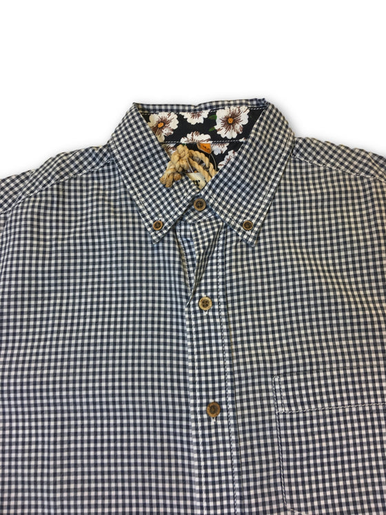Tailor Vintage shirt in grey micro check- khakisurfer.com Latest menswear designer brands added include Eton, Etro, Agave Denim, Pal Zileri, Circle of Gentlemen, Ralph Lauren, Scotch and Soda, Hugo Boss, Armani Jeans, Armani Collezioni.