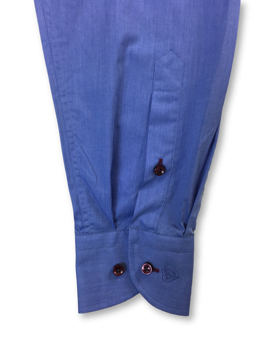 Roy Robson shape fit shirt in blue and red- khakisurfer.com Latest menswear designer brands added include Eton, Etro, Agave Denim, Pal Zileri, Circle of Gentlemen, Ralph Lauren, Scotch and Soda, Hugo Boss, Armani Jeans, Armani Collezioni.