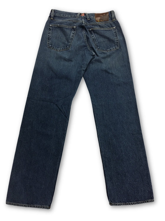 Agave Limited Edition 09 Kaihara G255 Stone Jeans in Blue- khakisurfer.com Latest menswear designer brands added include Eton, Etro, Agave Denim, Pal Zileri, Circle of Gentlemen, Ralph Lauren, Scotch and Soda, Hugo Boss, Armani Jeans, Armani Collezioni.