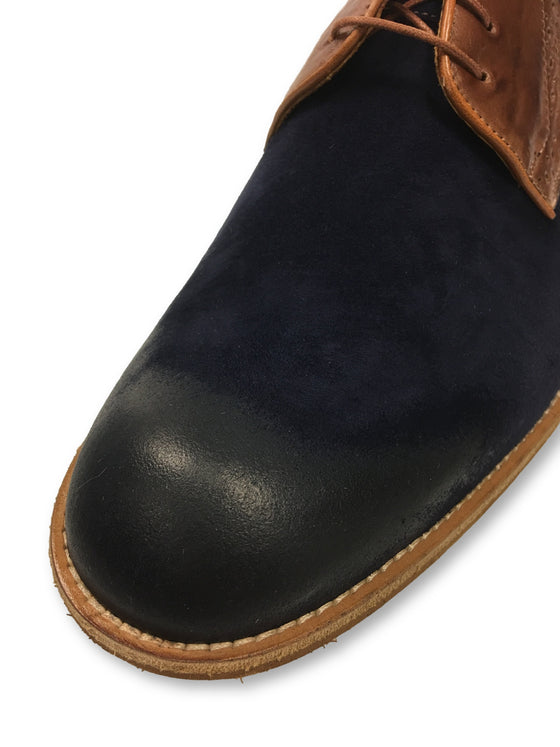 Lacuzzo leather shoes in navy and brown- khakisurfer.com Latest menswear designer brands added include Eton, Etro, Agave Denim, Pal Zileri, Circle of Gentlemen, Ralph Lauren, Scotch and Soda, Hugo Boss, Armani Jeans, Armani Collezioni.