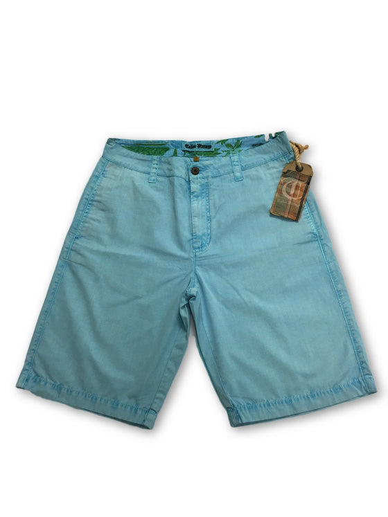 Tailor Vintage shorts in aqua blue- khakisurfer.com Latest menswear designer brands added include Eton, Etro, Agave Denim, Pal Zileri, Circle of Gentlemen, Ralph Lauren, Scotch and Soda, Hugo Boss, Armani Jeans, Armani Collezioni.