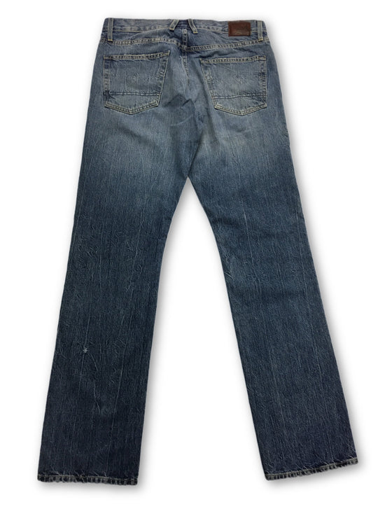 Agave Zuma Vintage Japanese Denim Jeans in Blue- khakisurfer.com Latest menswear designer brands added include Eton, Etro, Agave Denim, Pal Zileri, Circle of Gentlemen, Ralph Lauren, Scotch and Soda, Hugo Boss, Armani Jeans, Armani Collezioni.