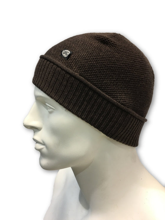 Agave Lux Marpole beanie hat in brown- khakisurfer.com Latest menswear designer brands added include Eton, Etro, Agave Denim, Pal Zileri, Circle of Gentlemen, Ralph Lauren, Scotch and Soda, Hugo Boss, Armani Jeans, Armani Collezioni.