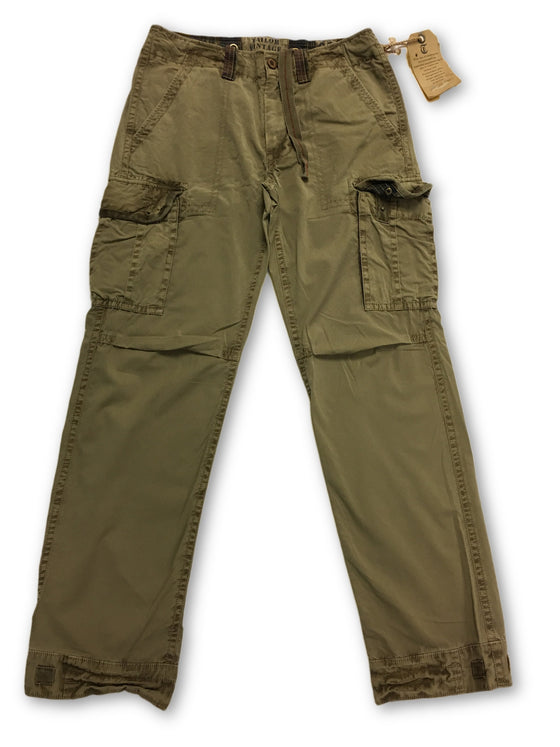 Tailor Vintage Military Grade chinos in Khaki- khakisurfer.com Latest menswear designer brands added include Eton, Etro, Agave Denim, Pal Zileri, Circle of Gentlemen, Ralph Lauren, Scotch and Soda, Hugo Boss, Armani Jeans, Armani Collezioni.