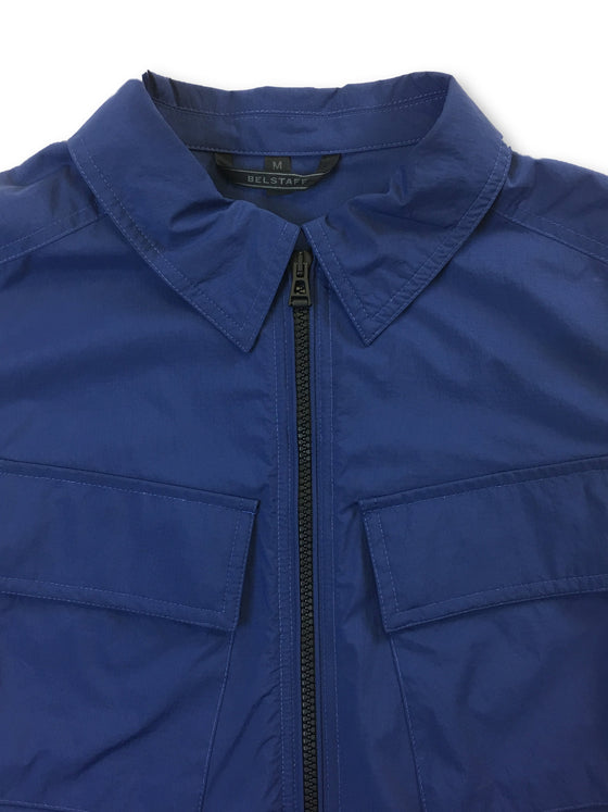 Belstaff Talbrook lightweight jacket in deep electric blue- khakisurfer.com Latest menswear designer brands added include Eton, Etro, Agave Denim, Pal Zileri, Circle of Gentlemen, Ralph Lauren, Scotch and Soda, Hugo Boss, Armani Jeans, Armani Collezioni.