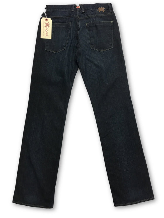 Agave Pragmatist denim jeans in dark indigo blue- khakisurfer.com Latest menswear designer brands added include Eton, Etro, Agave Denim, Pal Zileri, Circle of Gentlemen, Ralph Lauren, Scotch and Soda, Hugo Boss, Armani Jeans, Armani Collezioni.