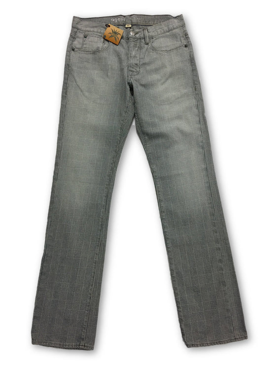 Agave Slvrsmth Madness Flex Jeans in Black White- khakisurfer.com Latest menswear designer brands added include Eton, Etro, Agave Denim, Pal Zileri, Circle of Gentlemen, Ralph Lauren, Scotch and Soda, Hugo Boss, Armani Jeans, Armani Collezioni.