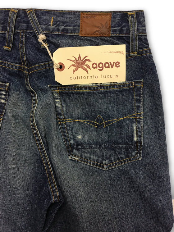 Agave Gringo Sundance Vintage Jeans in Blue- khakisurfer.com Latest menswear designer brands added include Eton, Etro, Agave Denim, Pal Zileri, Circle of Gentlemen, Ralph Lauren, Scotch and Soda, Hugo Boss, Armani Jeans, Armani Collezioni.