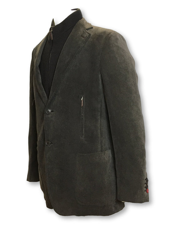 Pal Zileri corduroy jacket in olive with detachable layer- khakisurfer.com Latest menswear designer brands added include Eton, Etro, Agave Denim, Pal Zileri, Circle of Gentlemen, Ralph Lauren, Scotch and Soda, Hugo Boss, Armani Jeans, Armani Collezioni.
