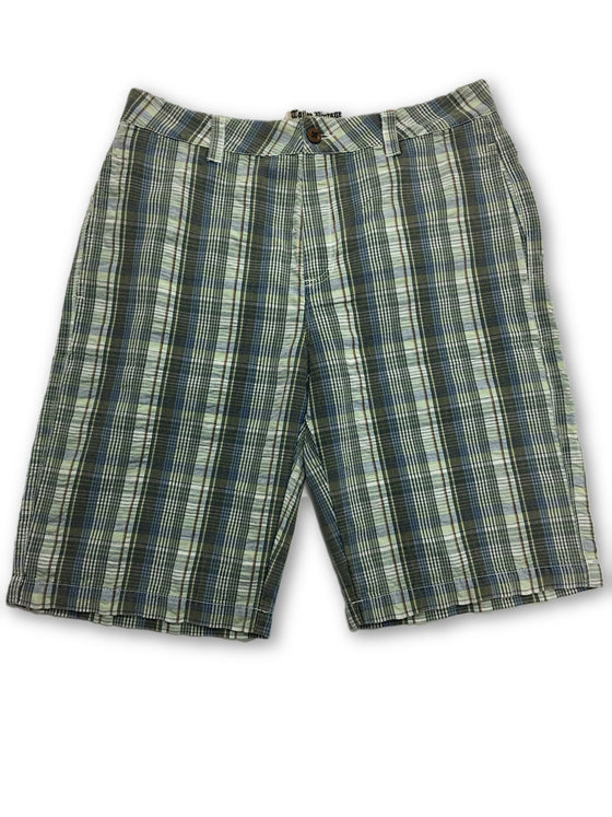 Tailor Vintage Seersucker Green Plaid Check Shorts- khakisurfer.com Latest menswear designer brands added include Eton, Etro, Agave Denim, Pal Zileri, Circle of Gentlemen, Ralph Lauren, Scotch and Soda, Hugo Boss, Armani Jeans, Armani Collezioni.