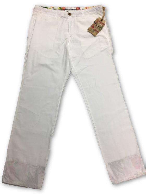 Tailor Vintage Cotton Chino in White- khakisurfer.com Latest menswear designer brands added include Eton, Etro, Agave Denim, Pal Zileri, Circle of Gentlemen, Ralph Lauren, Scotch and Soda, Hugo Boss, Armani Jeans, Armani Collezioni.