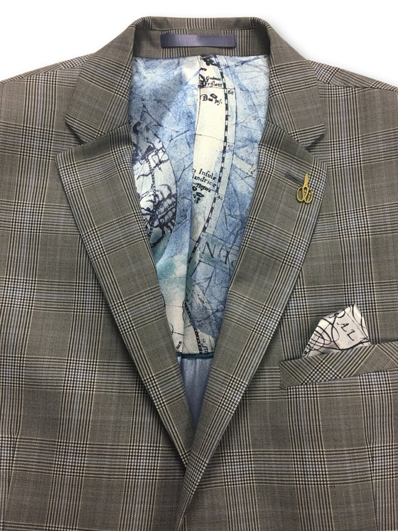 Gibson London jacket in grey and lilac glen check- khakisurfer.com Latest menswear designer brands added include Eton, Etro, Agave Denim, Pal Zileri, Circle of Gentlemen, Ralph Lauren, Scotch and Soda, Hugo Boss, Armani Jeans, Armani Collezioni.