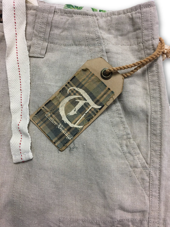 Tailor Vintage Military Grade chinos in Beige- khakisurfer.com Latest menswear designer brands added include Eton, Etro, Agave Denim, Pal Zileri, Circle of Gentlemen, Ralph Lauren, Scotch and Soda, Hugo Boss, Armani Jeans, Armani Collezioni.