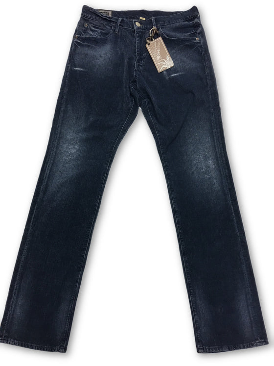Agave Pragmatist corduroy jeans in washed blue- khakisurfer.com Latest menswear designer brands added include Eton, Etro, Agave Denim, Pal Zileri, Circle of Gentlemen, Ralph Lauren, Scotch and Soda, Hugo Boss, Armani Jeans, Armani Collezioni.