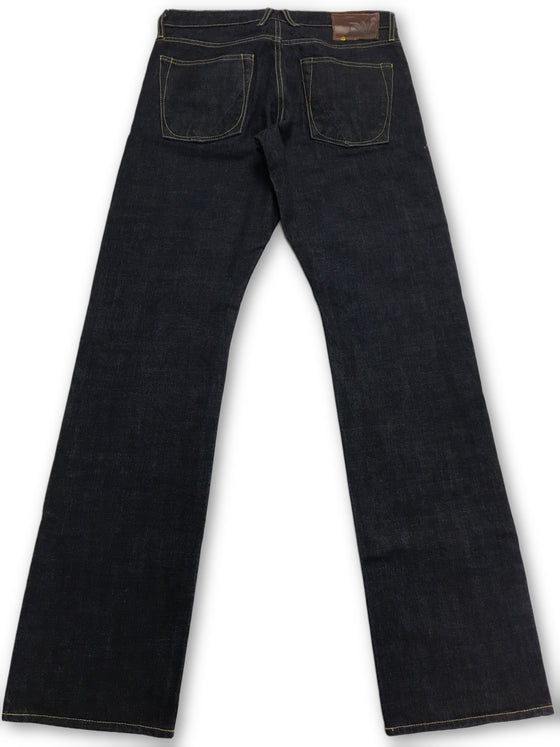 Agave Gold Kuroki NB656 Rinse Jeans in Blue- khakisurfer.com Latest menswear designer brands added include Eton, Etro, Agave Denim, Pal Zileri, Circle of Gentlemen, Ralph Lauren, Scotch and Soda, Hugo Boss, Armani Jeans, Armani Collezioni.