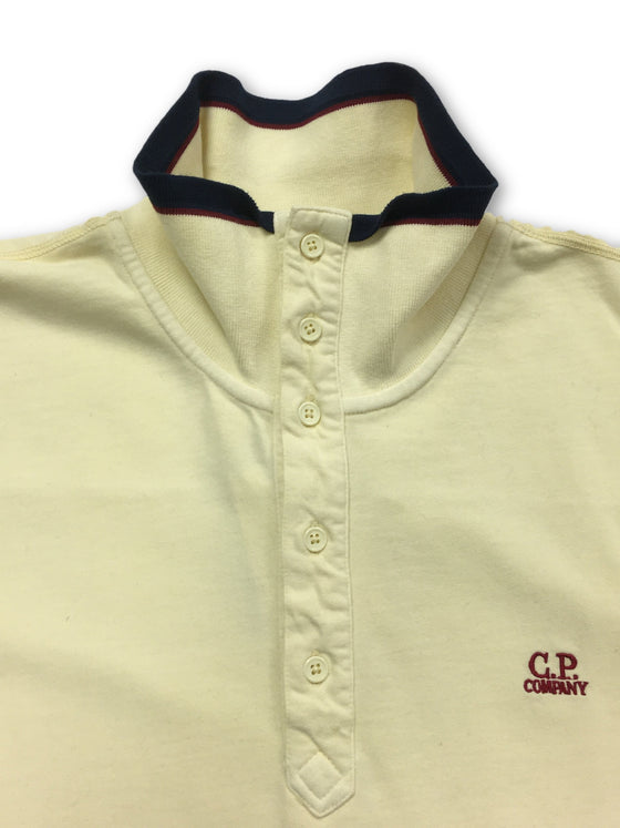 CP Company top in pale yellow