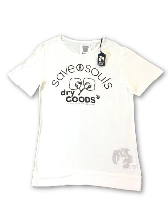 Blue Blood 'Save R Souls' T shirt in white