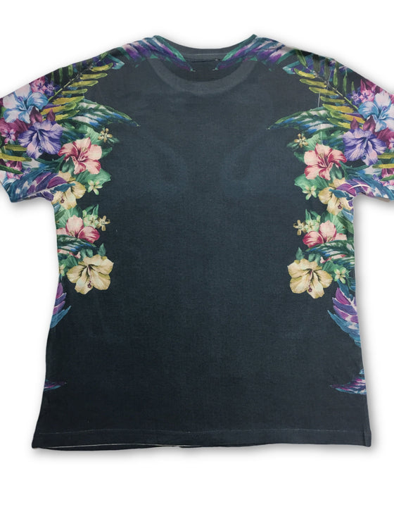 Prints of Paradise Flamingo Pattern T Shirt in Blue- khakisurfer.com Latest menswear designer brands added include Eton, Etro, Agave Denim, Pal Zileri, Circle of Gentlemen, Ralph Lauren, Scotch and Soda, Hugo Boss, Armani Jeans, Armani Collezioni.