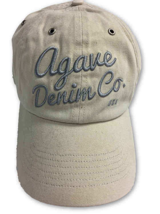 Agave Embroidered Denim Co USA Baseball Cap Beige- khakisurfer.com Latest menswear designer brands added include Eton, Etro, Agave Denim, Pal Zileri, Circle of Gentlemen, Ralph Lauren, Scotch and Soda, Hugo Boss, Armani Jeans, Armani Collezioni.