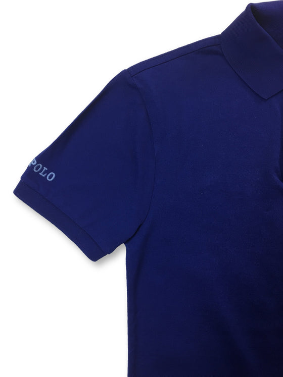 Ralph Lauren Polo slim fit polo in royal blue- khakisurfer.com Latest menswear designer brands added include Eton, Etro, Agave Denim, Pal Zileri, Circle of Gentlemen, Ralph Lauren, Scotch and Soda, Hugo Boss, Armani Jeans, Armani Collezioni.