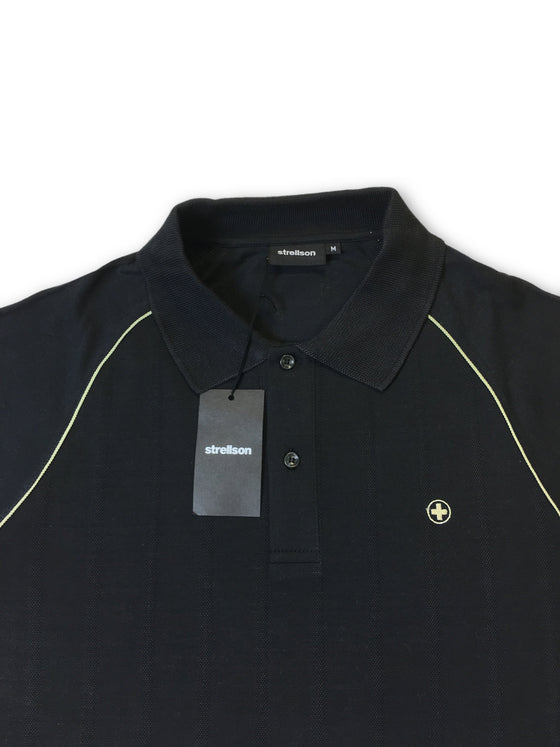 Strellson short sleeved polo in black- khakisurfer.com Latest menswear designer brands added include Eton, Etro, Agave Denim, Pal Zileri, Circle of Gentlemen, Ralph Lauren, Scotch and Soda, Hugo Boss, Armani Jeans, Armani Collezioni.
