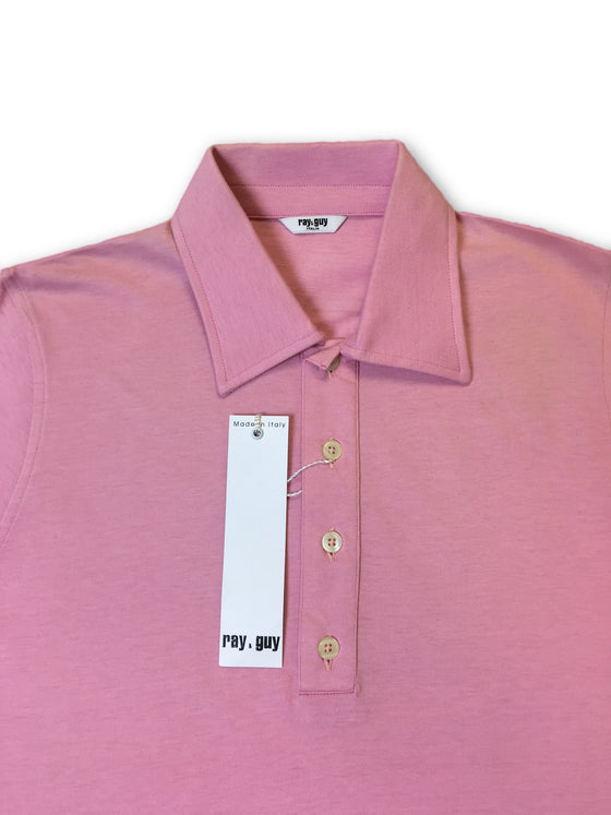 Ray & Guy polo shirt in pink- khakisurfer.com Latest menswear designer brands added include Eton, Etro, Agave Denim, Pal Zileri, Circle of Gentlemen, Ralph Lauren, Scotch and Soda, Hugo Boss, Armani Jeans, Armani Collezioni.