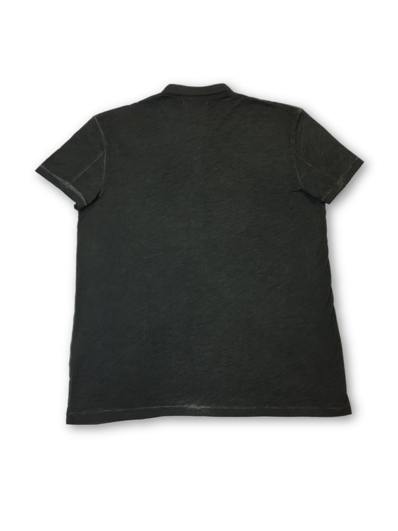 Gaudi People polo shirt in dark grey- khakisurfer.com Latest menswear designer brands added include Eton, Etro, Agave Denim, Pal Zileri, Circle of Gentlemen, Ralph Lauren, Scotch and Soda, Hugo Boss, Armani Jeans, Armani Collezioni.
