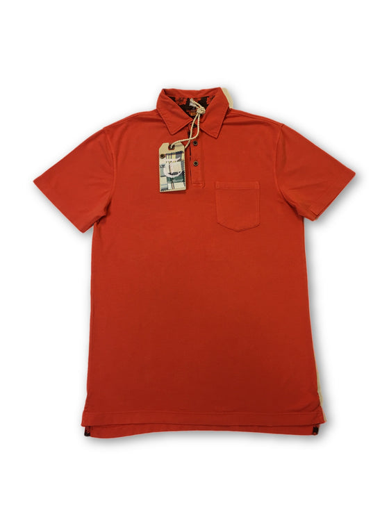 Tailor Vintage stretch polo in orange