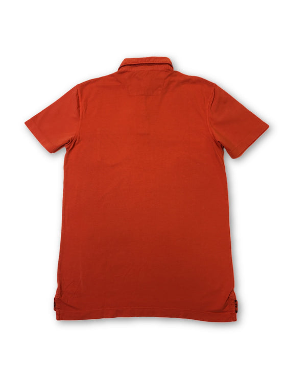 Tailor Vintage polo shirt in orange