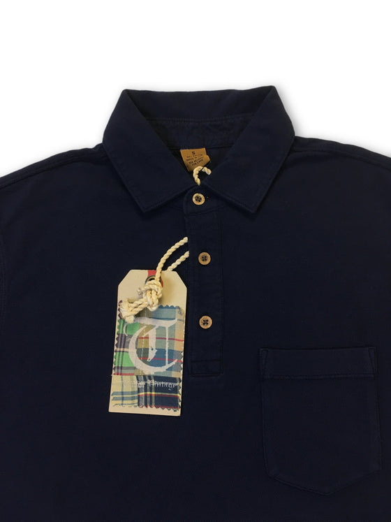 Tailor Vintage polo in navy