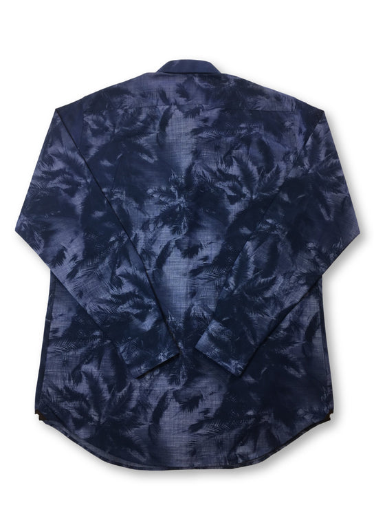 Circle of Gentlemen Mendo shirt in blue/navy palm tree print- khakisurfer.com Latest menswear designer brands added include Eton, Etro, Agave Denim, Pal Zileri, Circle of Gentlemen, Ralph Lauren, Scotch and Soda, Hugo Boss, Armani Jeans, Armani Collezioni.