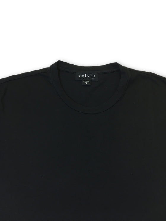 Velvet 'Howard' short sleeved T-Shirt in Black- khakisurfer.com Latest menswear designer brands added include Eton, Etro, Agave Denim, Pal Zileri, Circle of Gentlemen, Ralph Lauren, Scotch and Soda, Hugo Boss, Armani Jeans, Armani Collezioni.