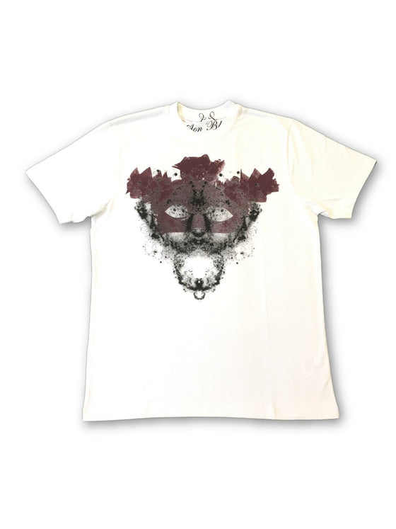 Aon Black limited edition T-Shirt in white face logo