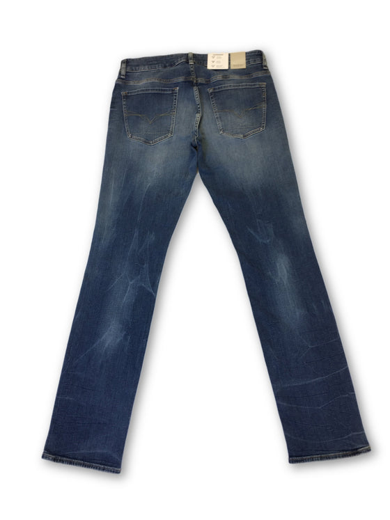 Guess Los Angeles skinny denim jeans in blue- khakisurfer.com Latest menswear designer brands added include Eton, Etro, Agave Denim, Pal Zileri, Circle of Gentlemen, Ralph Lauren, Scotch and Soda, Hugo Boss, Armani Jeans, Armani Collezioni.