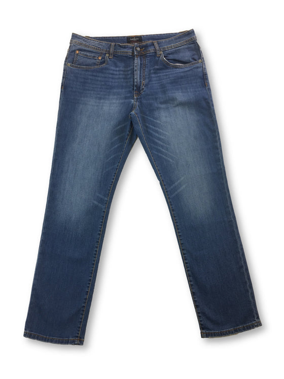 Hackett denim jeans in blue light wash