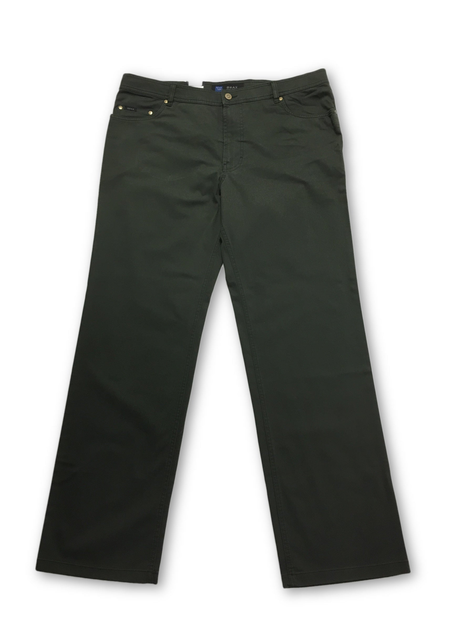 exclusive range wholesale price best prices Brax Blue Lab jeans in green | Big and Tall – khakisurfer.com