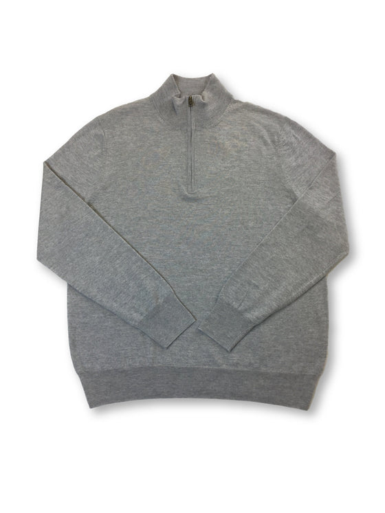 Faconnable knitwear in grey- khakisurfer.com Latest menswear designer brands added include Eton, Etro, Agave Denim, Pal Zileri, Circle of Gentlemen, Ralph Lauren, Scotch and Soda, Hugo Boss, Armani Jeans, Armani Collezioni.