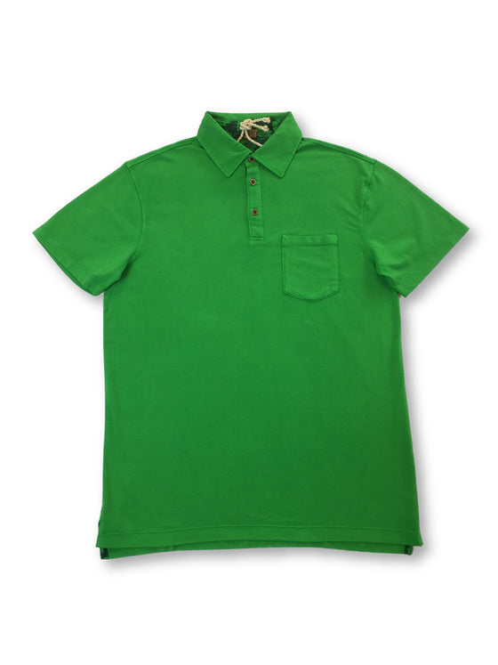 Tailor Vintage polo shirt in green-khakisurfer.com