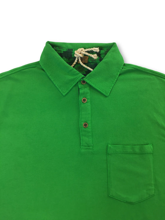 Tailor Vintage polo shirt in green- khakisurfer.com Latest menswear designer brands added include Eton, Etro, Agave Denim, Pal Zileri, Circle of Gentlemen, Ralph Lauren, Scotch and Soda, Hugo Boss, Armani Jeans, Armani Collezioni.