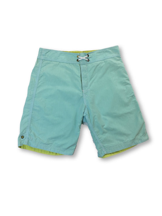 Tailor Vintage reversible swim shorts in green