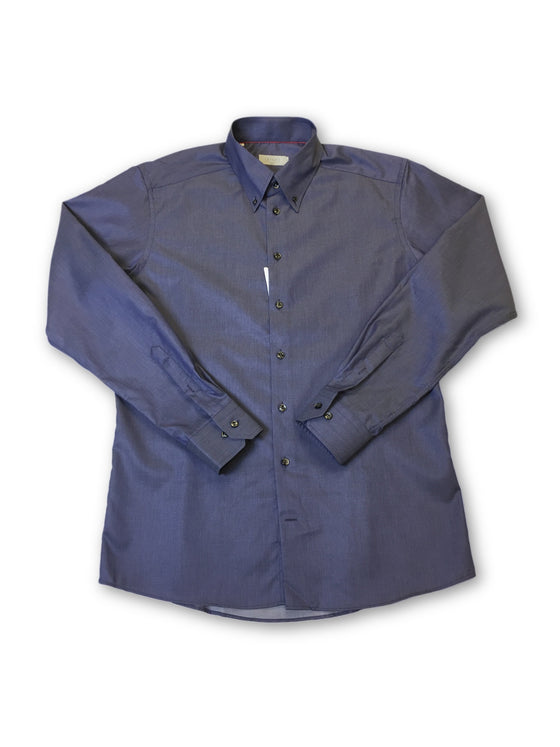 Eton slim fit shirt in blue- khakisurfer.com Latest menswear designer brands added include Eton, Etro, Agave Denim, Pal Zileri, Circle of Gentlemen, Ralph Lauren, Scotch and Soda, Hugo Boss, Armani Jeans, Armani Collezioni.